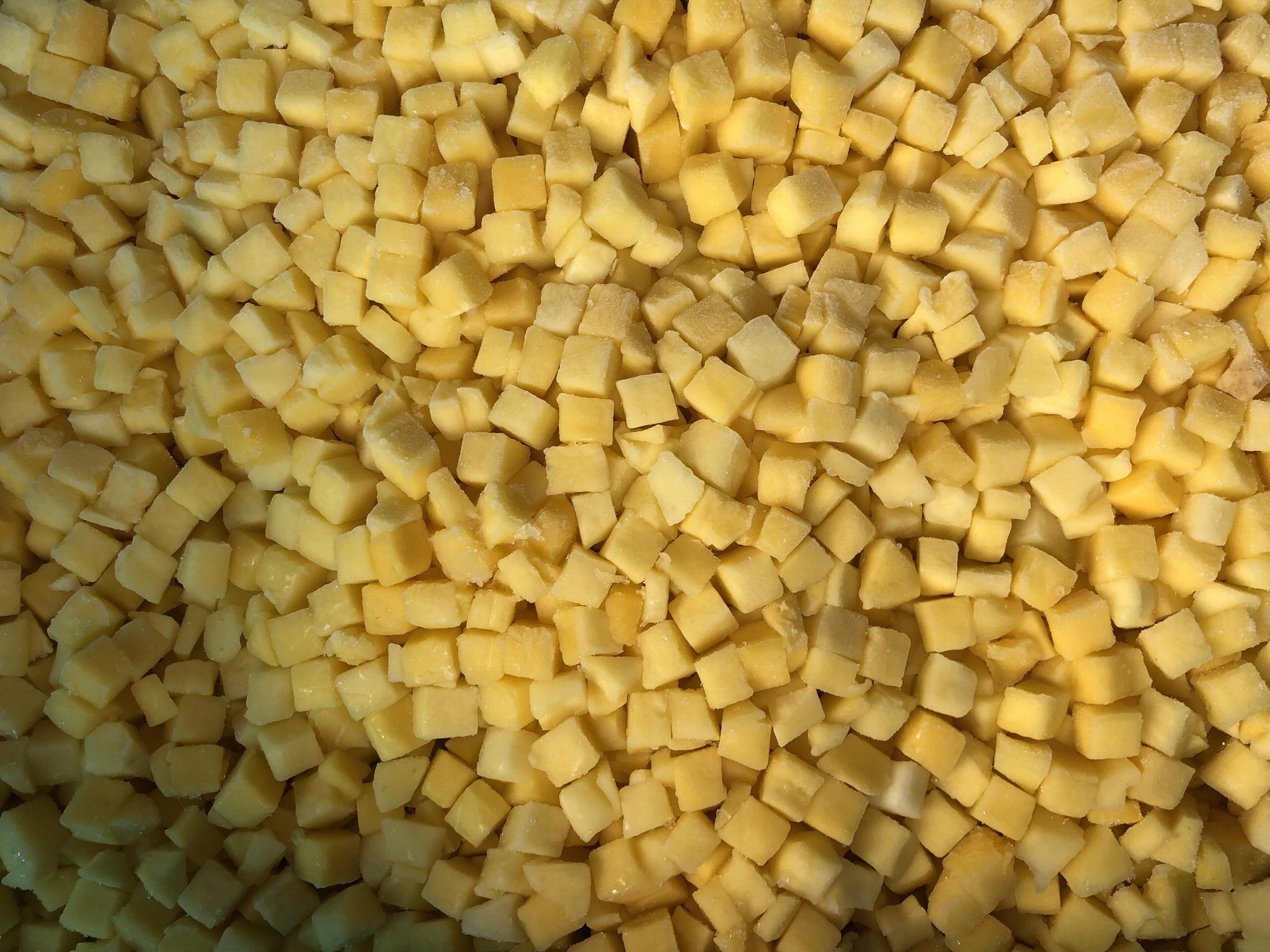 IQF mango flesh,IQF mango ha  es,IQF mango pieces,IQF mango chunks 5