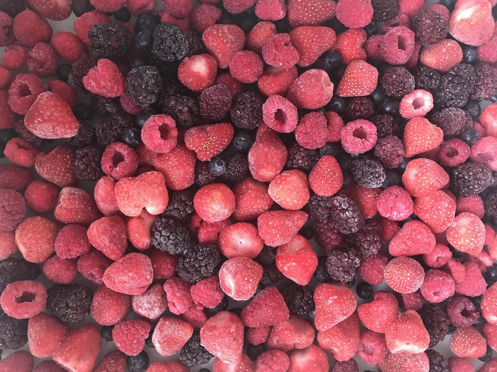 IQF mixed berries,Frozen mixed berries
