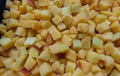 IQF diced apricots,IQF apricots cubes,Frozen diced apricots,with skin,unblanched