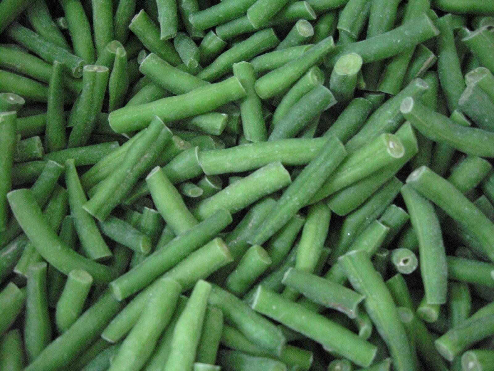 IQF Cut Green Beans,Frozen Cut Green Beans,IQF Green Beans Cuts 8