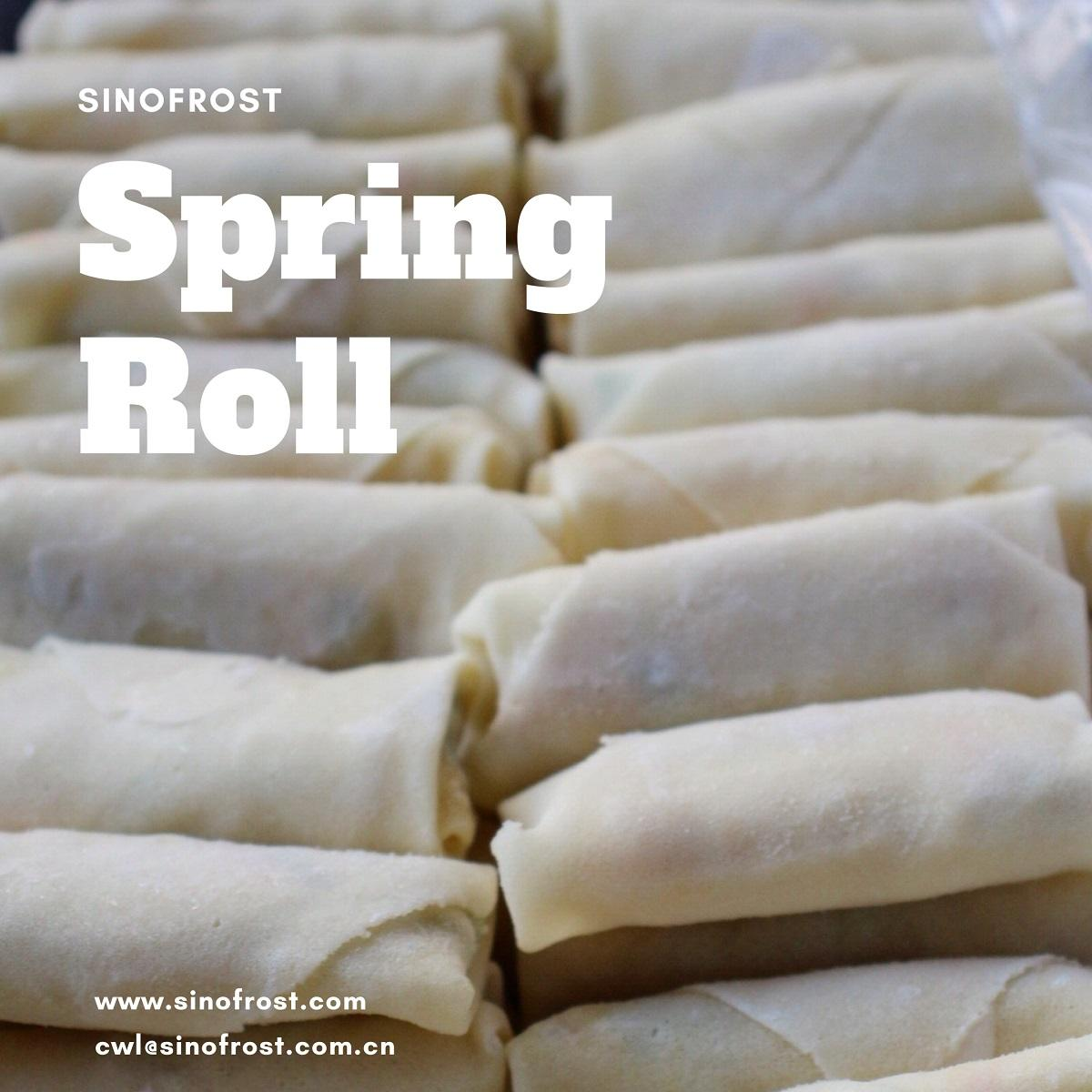 Vegetable Spring Roll,Frozen Dim Sum,Asian Food,Oriental Food,Snacks,Party Food 6