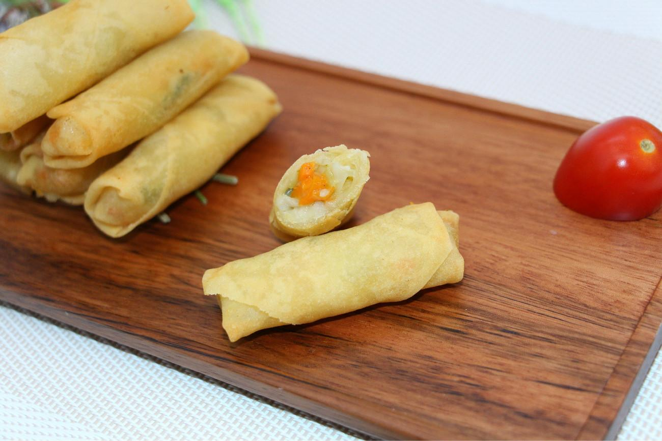 Vegetable Spring Roll,Frozen Dim Sum,Asian Food,Oriental Food,Snacks,Party Food 2