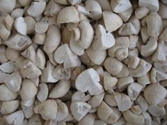 IQF champignon mushrooms cuts,IQF cut champignon mushrooms,frozen champignon
