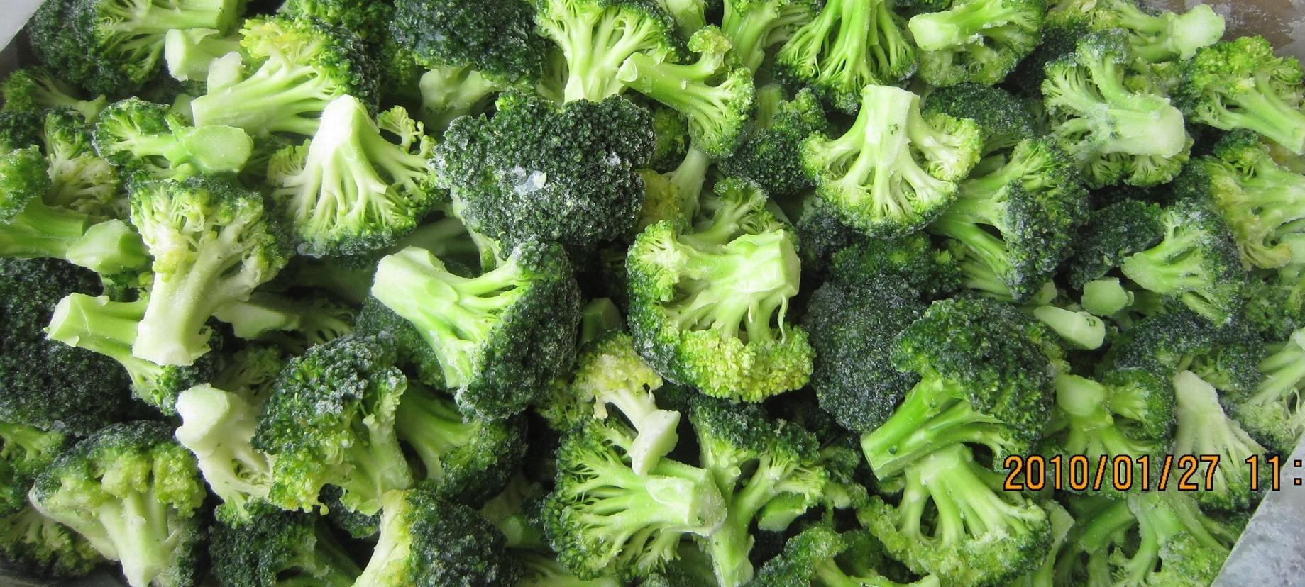 冷凍綠花菜,速凍綠花菜 1