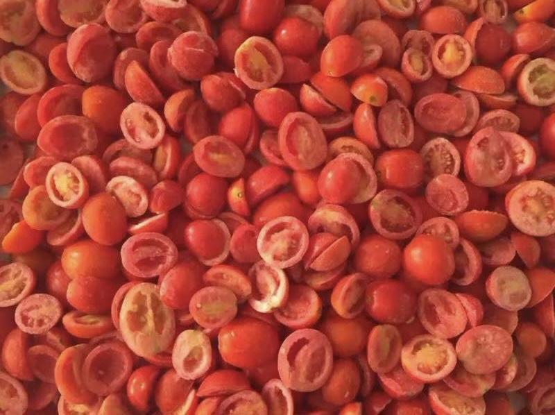 IQF cherry tomatoes,Frozen cherry tomato,wholes/slices/ha  es/dices 1