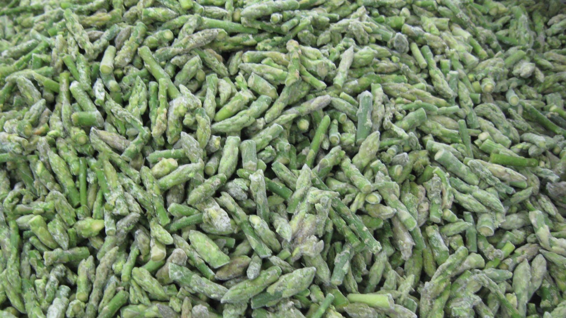 IQF Green Asparagus Cuts & Tips,Frozen Green Asparagus Tips & Cuts 3