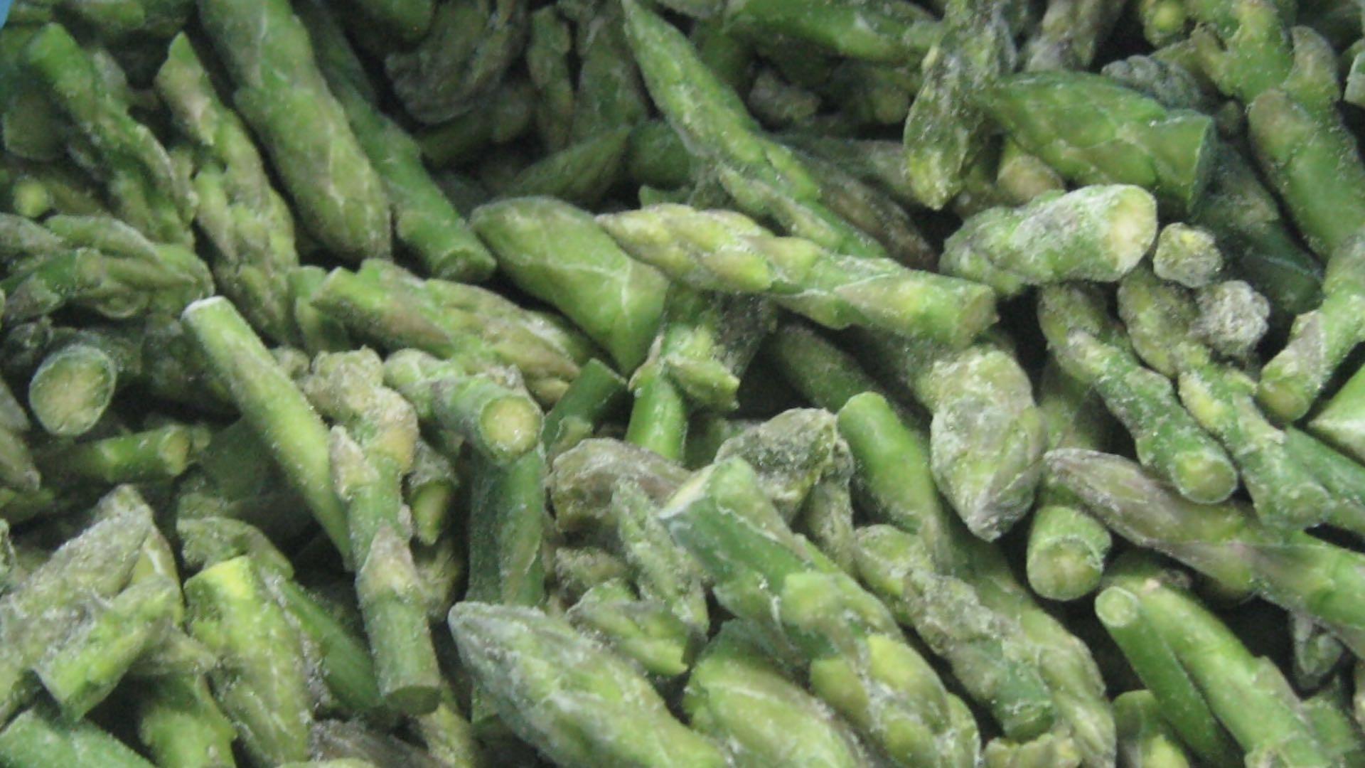 IQF Green Asparagus Cuts & Tips,Frozen Green Asparagus Tips & Cuts 2