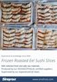 IVP Packed, Frozen Roasted Eel,Frozen Grilled Eel,Unagi Kabayaki in vacuum bag 15