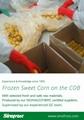 IQF Sweet Cob Corn,Frozen Sweet Corn on the COB,Frozen Cob Corn 6