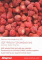 IQF Strawberries,Frozen Whole Strawberries,IQF Strawberry,American no.13 variety 17