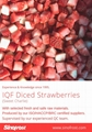 Frozen Whole Strawberries in Sugar ,Frozen Sliced Strawberries with Sugar