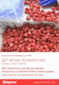 Frozen Strawberries in Sugar ,Frozen Strawberries with Sugar,slices/wholes 19