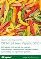 IQF Mixed Sweet Peppers,Frozen Mixed Bell Pepper (dices/strips/sliced)