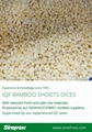 IQF bamboo shoots strips,Frozen bamboo shoots strips,blanched