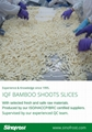 IQF bamboo shoots slices ,Frozen bamboo shoot slices ,IQF sliced bamboo shoots 9
