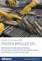 Frozen Roasted Eel,Unagi Kabayaki,Broiled Eel,Prepared Eel,Grilled Eel
