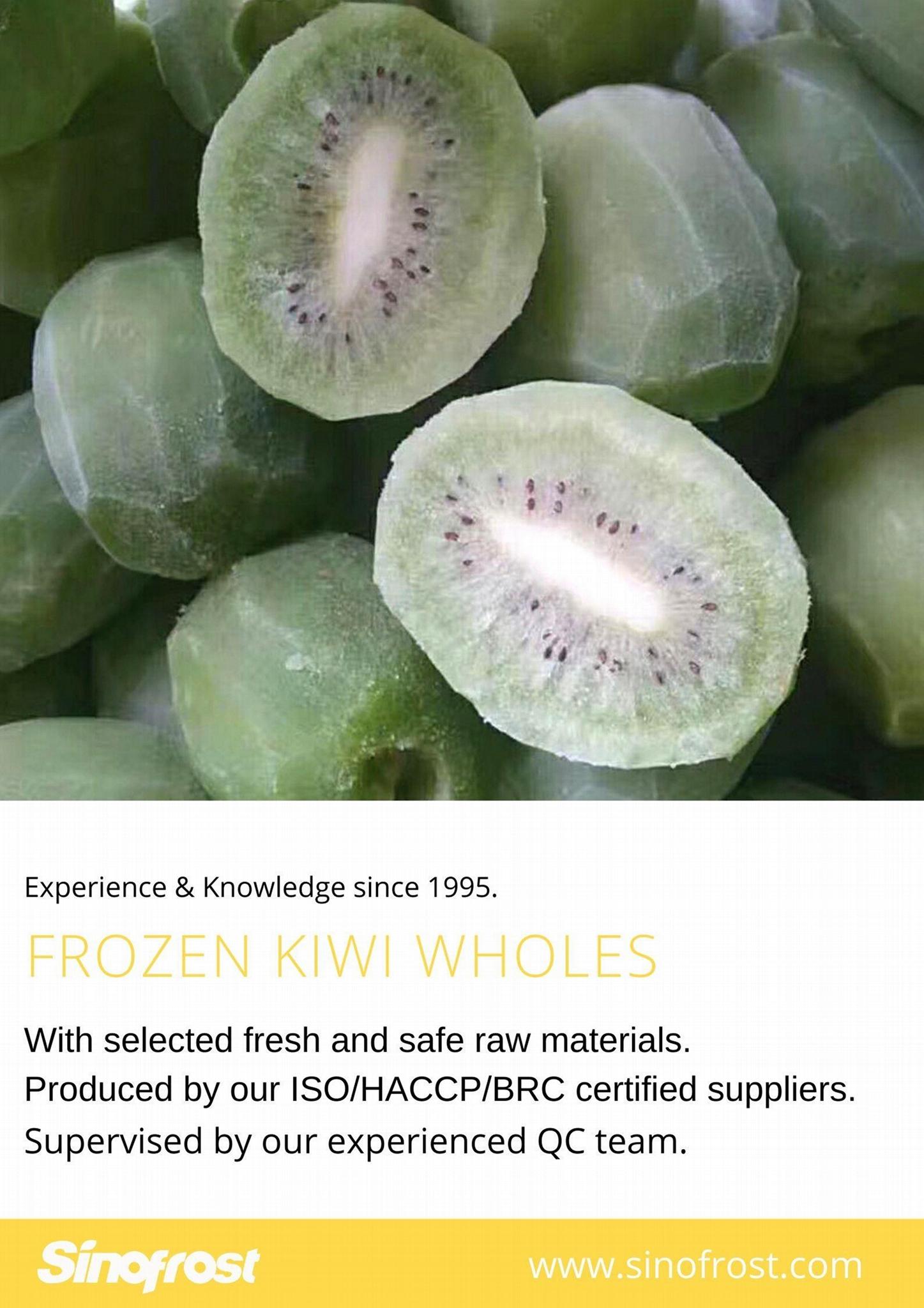 IQF Sliced Kiwi ,Frozen Sliced Kiwi,IQF Kiwi Slices,Frozen Kiwi Slices 10