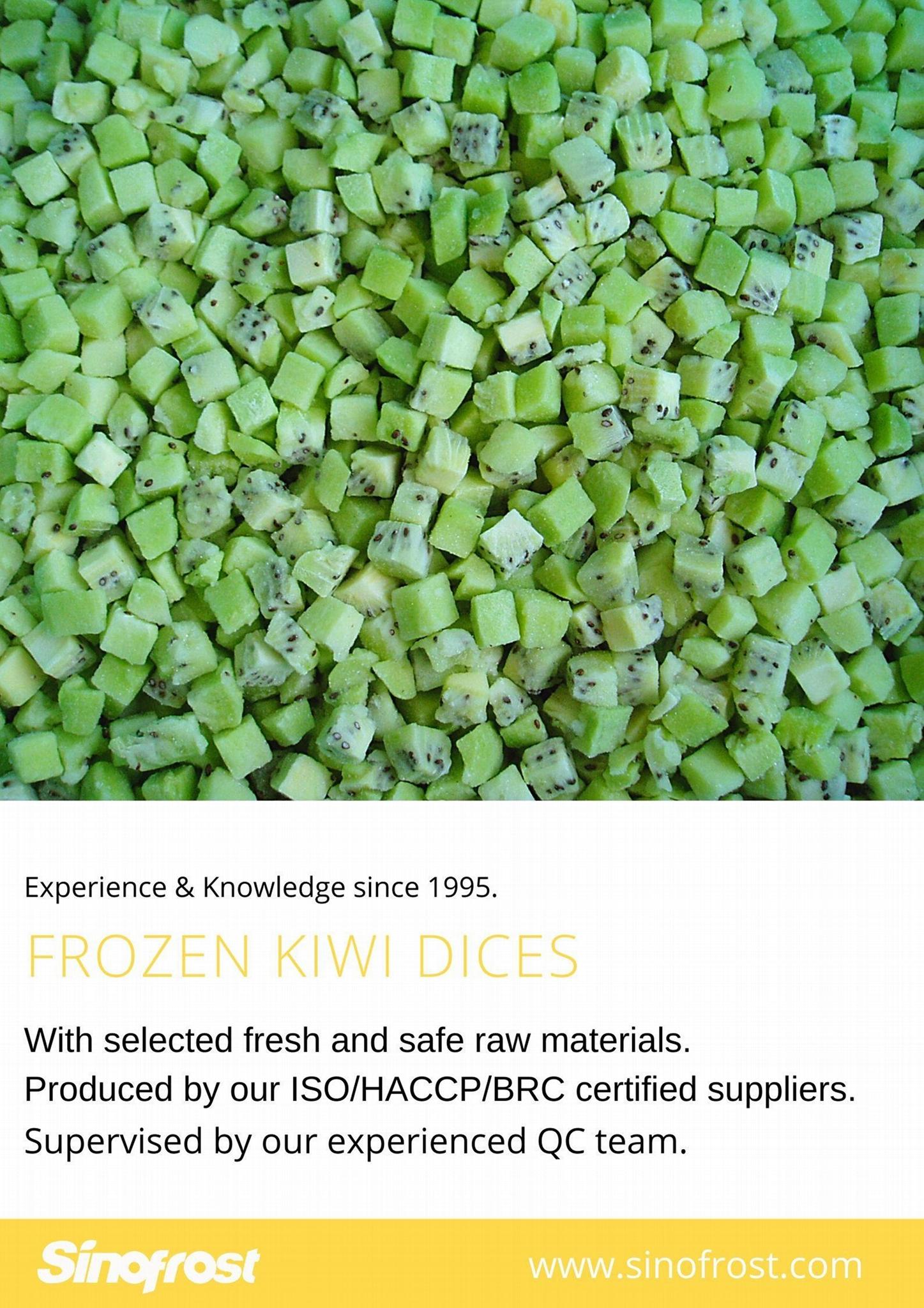 IQF Sliced Kiwi ,Frozen Sliced Kiwi,IQF Kiwi Slices,Frozen Kiwi Slices 13