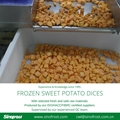 IQF Sweet Potato Slices,Frozen Sweet Potato Slices,steamed/blanched
