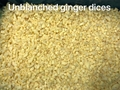 IQF Ginger Dices,Frozen Ginger Dices,IQF Diced Ginger