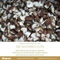 IQF Shiitake Cuts,Frozen Shiitake Cuts,IQF Shiitake Quarter Cuts