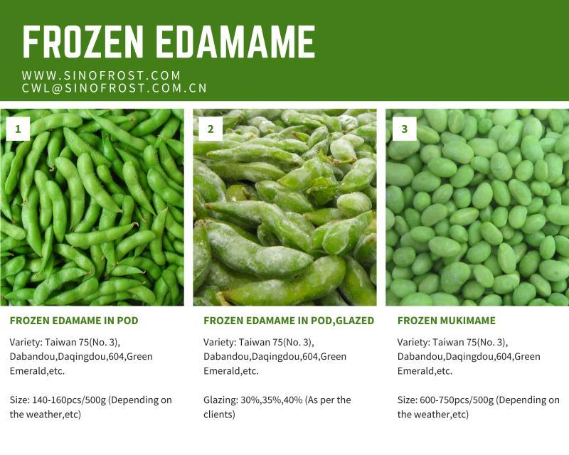 IQF Edamame,Frozen Edamame,IQF Green Soy Beans,Frozen Green Soy Beans 8
