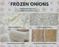 IQF Onion Strips,Frozen Onions Strips,IQF Sliced Onions