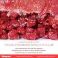 Frozen Strawberries in Sugar ,Frozen Strawberries with Sugar,slices/wholes