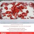 Frozen Strawberries in Sugar ,Frozen Strawberries with Sugar,slices/wholes 4