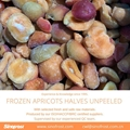 IQF Apricot Dices,Frozen Apricot Dices,IQF Diced Apricots,unpeeled,unblanched