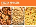 IQF Apricot Cubes,Frozen Apricot Cubes,IQF Diced Apricots,with skin,unblanched
