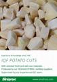 IQF Potato Cuts,Frozen Potato Cuts,IQF French Fries,IQF Potato Chips 5