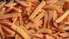 IQF Sweet Potato Sticks,Frozen Sweet Potato Sticks,steamed/blanched