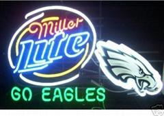 miller beer sign