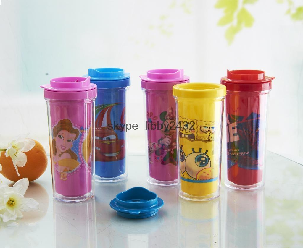 new promotion ps plastic dringking bottle, FDA,LFGB,CE standard,BPA free 1