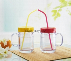 12oz. Nesquick Children plastic cup with lid