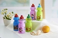 Disney approved colorful plastic children 3d water jug