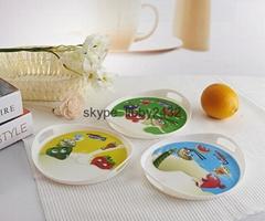 Chindren plastic bowl with 3D lenticular effect( Minnie, Cars,Spongebob)