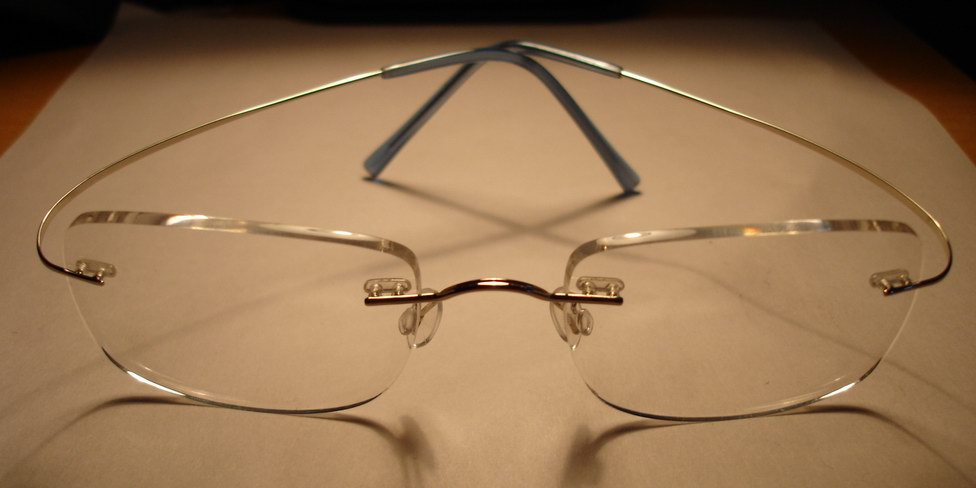 Beta Titanium optical frame 1
