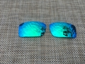 Fire Red  Replacement Polarized Lenses for Oakley Gascan Sunglasses  3