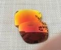 Fire Red Replacement Polarized Lenses for Holbrook Sunglasses