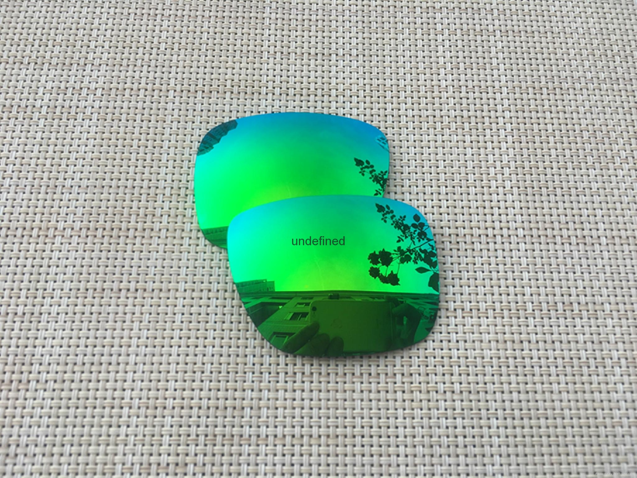 Fire Red Replacement Polarized Lenses for Oakley Holbrook Sunglasses  2