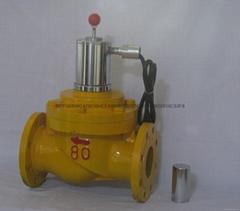 防爆常开手动复位型燃气安全切断阀
