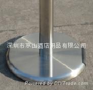 鑄鐵底帶剎車頭和滾軸伸縮帶欄 3