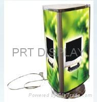 small turning light box