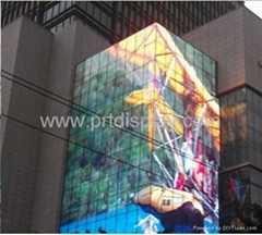 Aluminum Full Color Outdoor LED Strip Screen