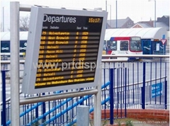Bus Station LED Message Board