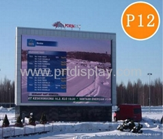 PH12 full color outdoor led advertising panel
