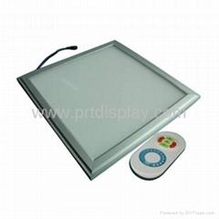 Lighting adjustable led panel light