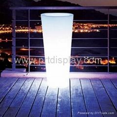White Light Concial Flower Pot Lighting